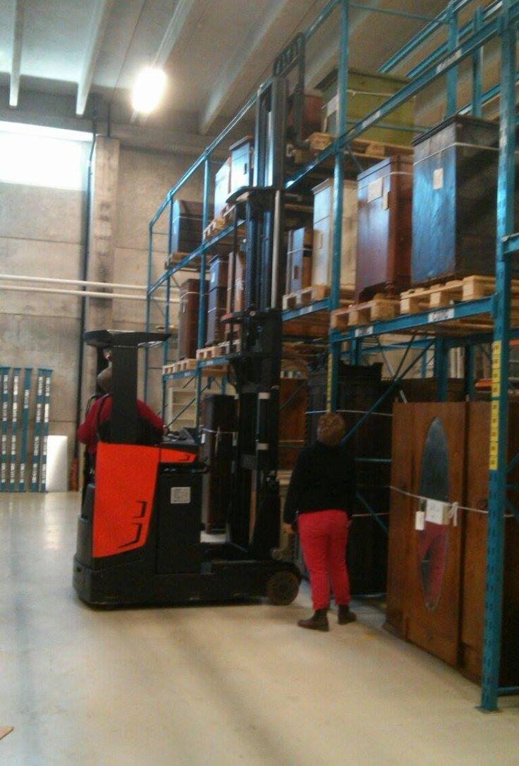 Colleagues at work #EKTAMuseumcenter