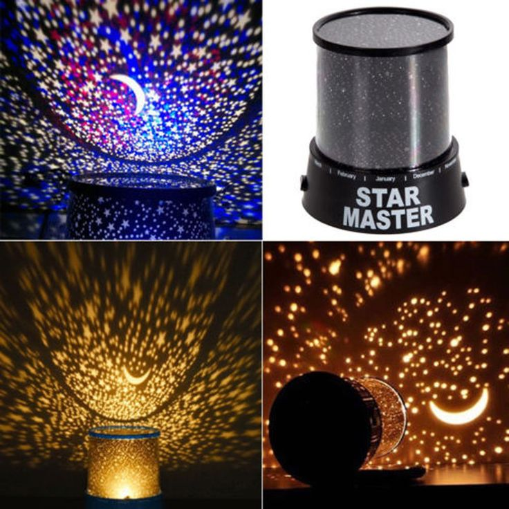 Led Starry Night Sky Projector Lamp Kids Gift Star Light Cosmos Master And Skies