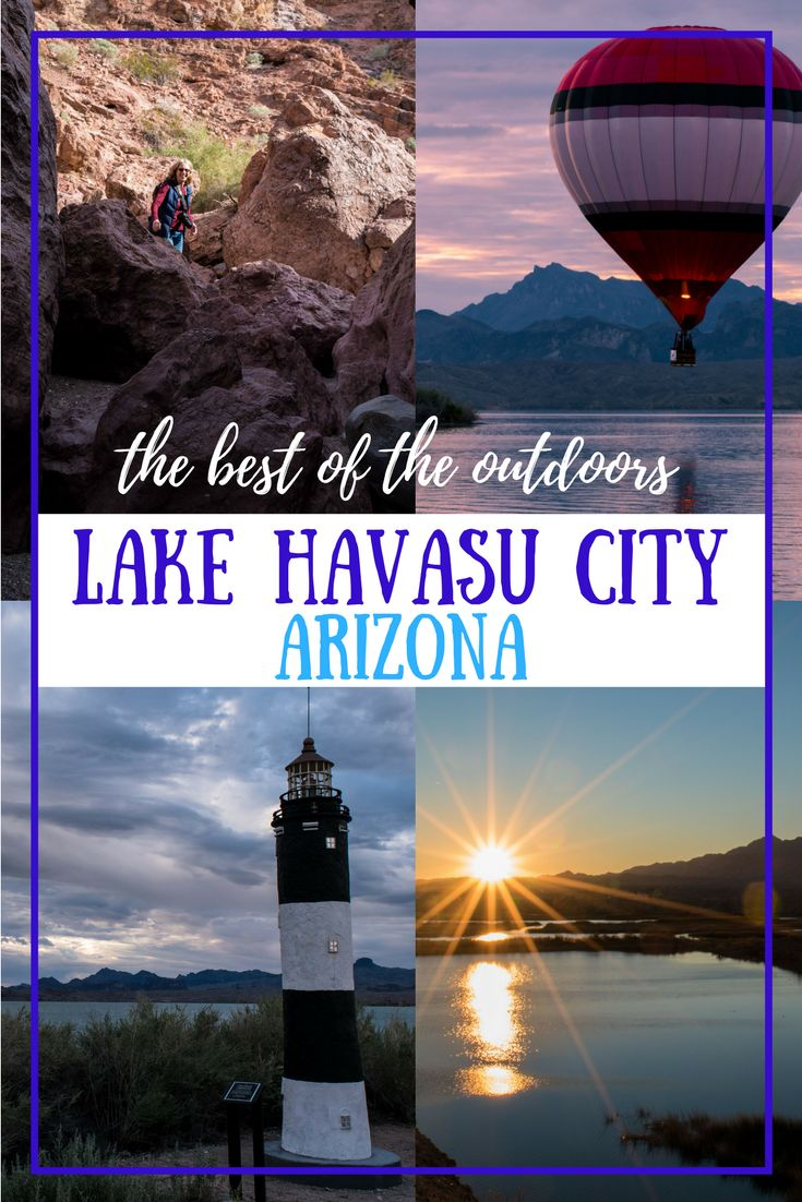 Whether you're on a cross-country road trip or a weekend getaway from Las Vegas, the best way to enjoy Lake Havasu City, Arizona, is to get outside! Here's the best hiking, swimming, boating, and paddling it has to offer.