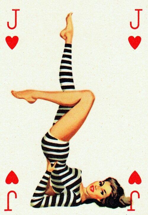 Крестника, картинки игральные карты с девушками