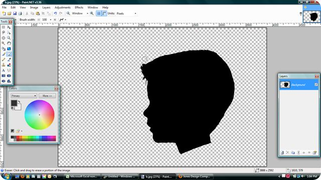 How to make Silhouette's on Computer
