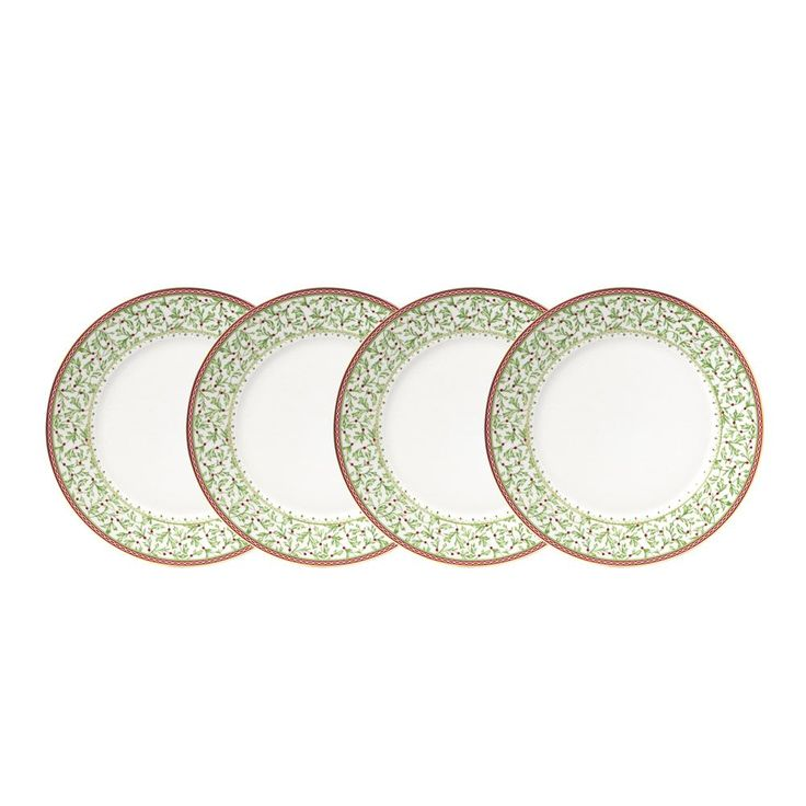 Buy Holiday Traditions Dinner Plates, Set of 4 online at Mikasa.com