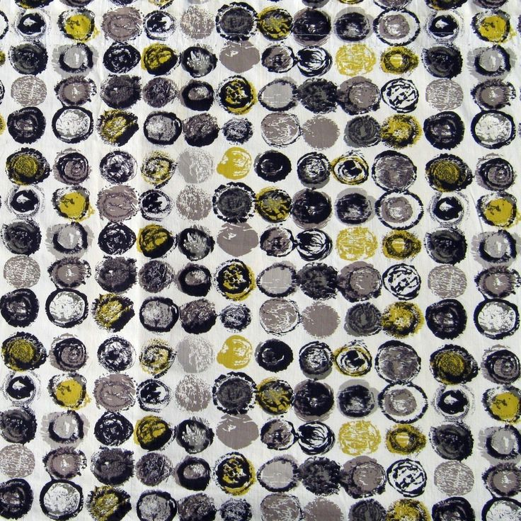 Lucienne Day; 'Ducatoon' Textile Design for Heals, 1959.
