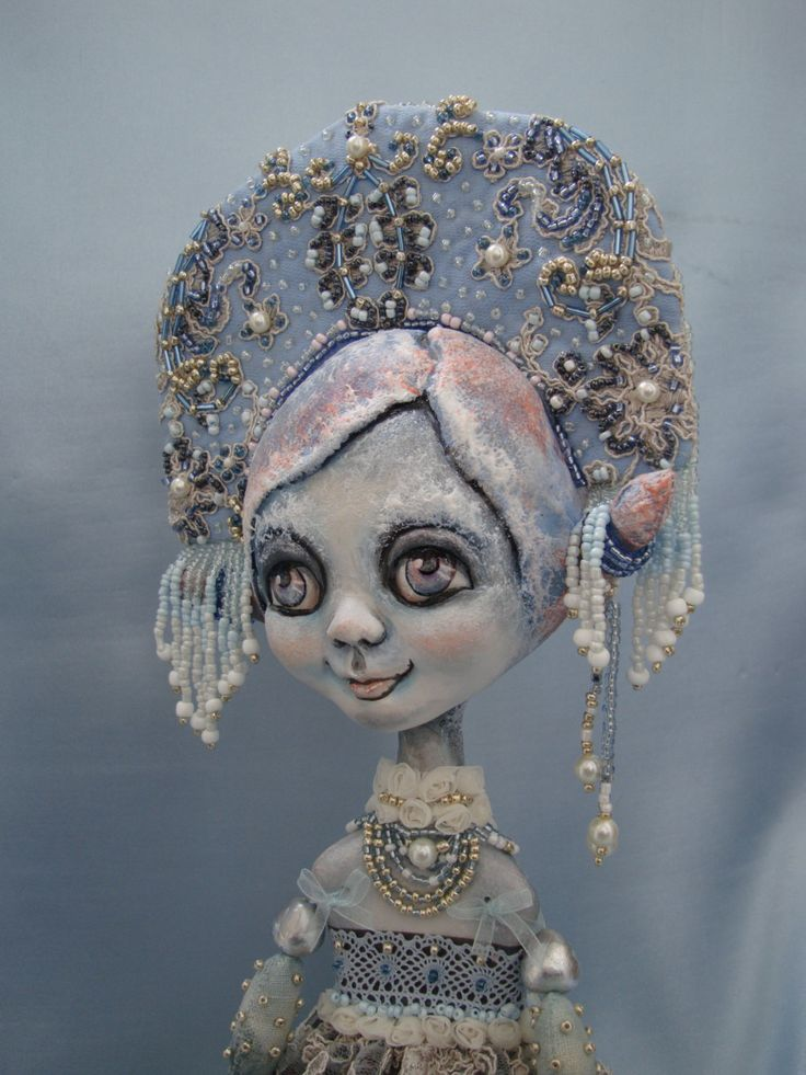 A personal favourite from my Etsy shop https://www.etsy.com/listing/482323688/snow-maiden-art-doll-christmas-interior