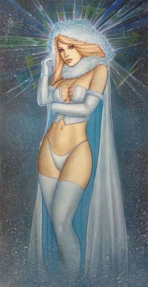 Emma Frost.