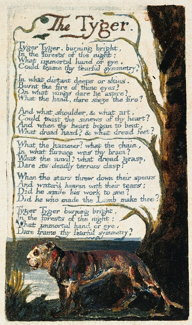 How was William Blake an originator of the Romantic movement in English poetry?