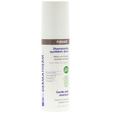 Très doux et haute tolérance, Purhair Shampooing Doux DERMATHERM protège les cuirs chevelus sensibles et fragiles. Tous types de cheveux.