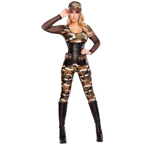 Adult Lusty Lieutenant Sexy Costume