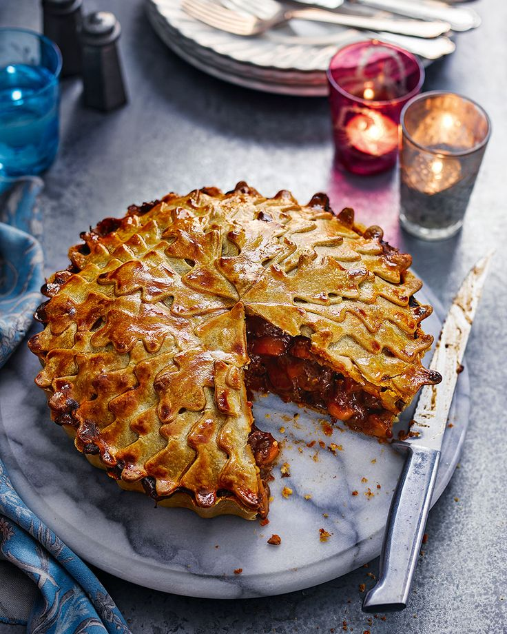 If you're after a rich, hearty beef pie that's full of flavour, this is the recipe for you.