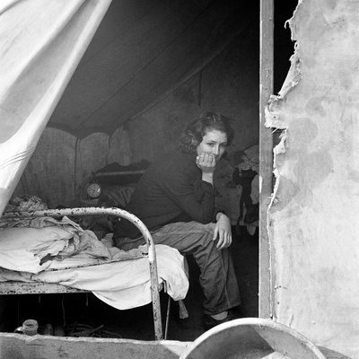Migrant Worker, 1936  Photographic Print  by Dorothea Lange