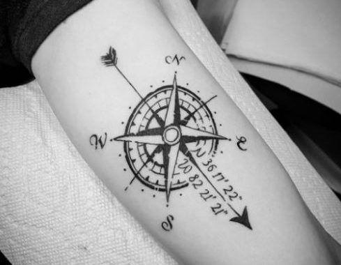 best 25 compass tattoo design ideas on pinterest. Black Bedroom Furniture Sets. Home Design Ideas