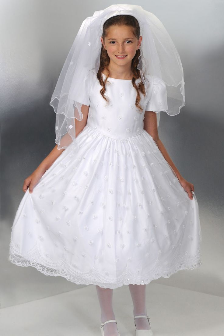 Beautiful confirmation dress first holy communion