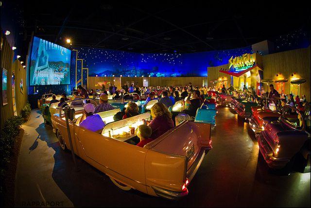 Sci-fi Dine-in Theater, Estudios Disney en Hollywood