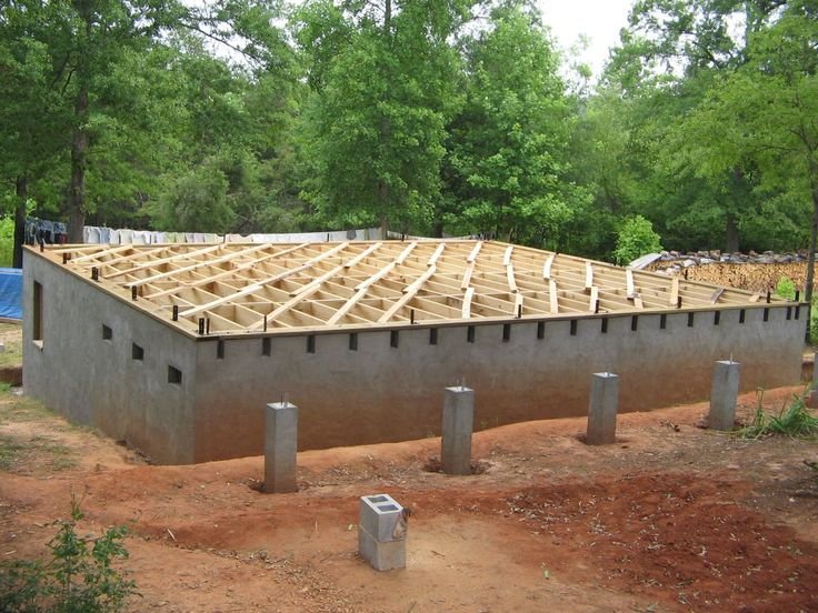 7 best foundations images on pinterest cordwood homes for Home foundation