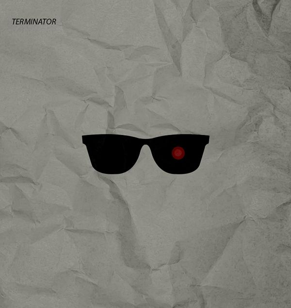 Terminator minimal poster