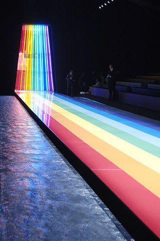 rainbow catwalk ♥
