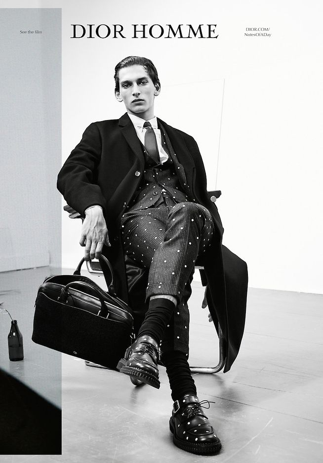 Thibaud Charon   Dior Homme A/W 14 Campaign  Ph:Willy Vanderperre