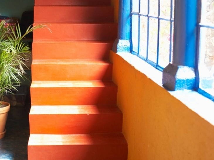 Escalier Orange Leroy Merlin Colorful Interior Design