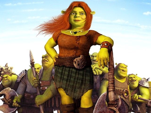 Princess Fiona#Repin By:Pinterest++ for iPad#