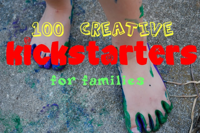It doesn't take much to have fun with the family. Here is a fabulous list of 100 Creative Kickstarters for Families!Creative Kickstart, Kids Wear, 100 Creative, Kids Stuff, Fun Ideas, Summer Buckets Lists, Summer Fun, Families Time, Things To Do