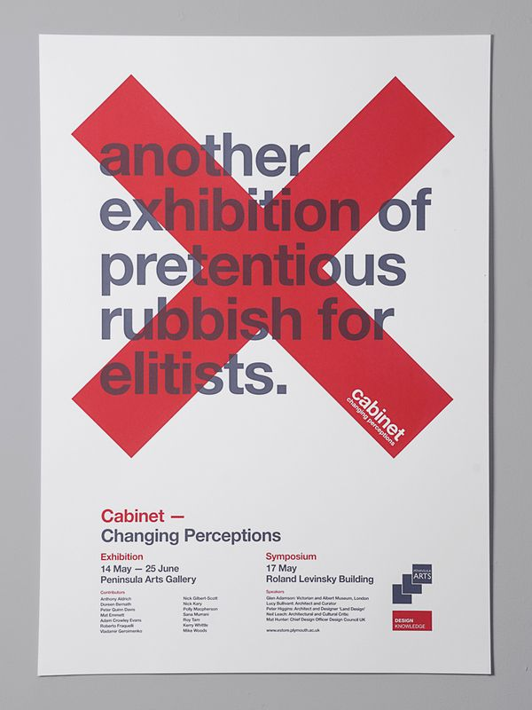 Cabinet exhibition / Buddy