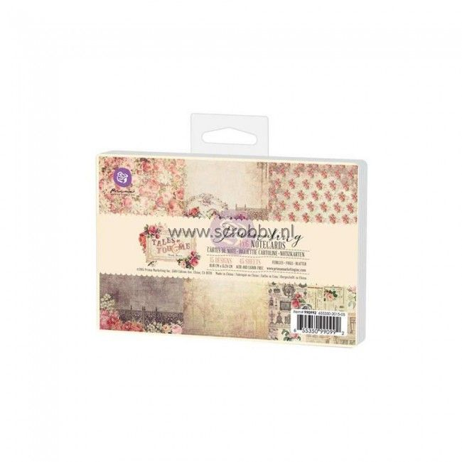 Prima Marketing Tales Of You & Me Journaling Cards 4x6