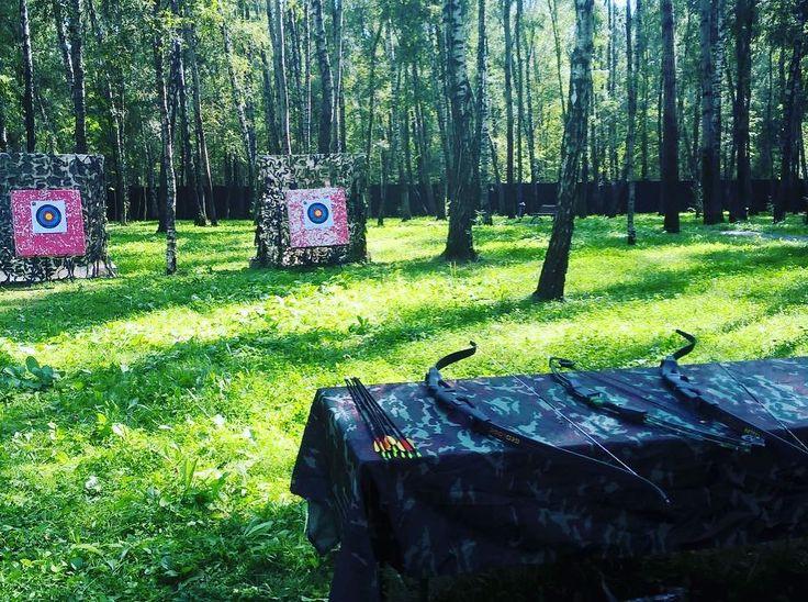 В каждом лесу - свои Робин Гуды... Личный тир на выезде.  #тимбилдинг #корпоративныемероприятия #корпоратив #организацияпраздников #организациямероприятий #teambuilding  #ивент  #event #eventmanagement #арендааттракционов