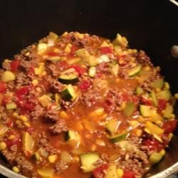 This was delicious! Ground Beef Zucchini Skillet Allrecipes.com: Beef Recipes, Skillets Allrecipescom, Photos Galleries, Zucchini Skillets, Ground Beef, Skillet Recipes, Beef Zucchini, Skillets Allrecipes Com, Grill Recipes