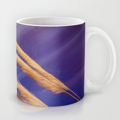 Fox tails Mug by Oscar Tello Muñoz - $15.00