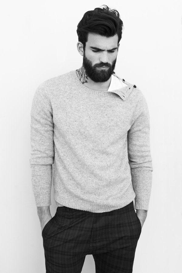 would he do the detail on the shoulder? It is so subtle... Zara-Autumn-Winter-2012-Men's-Homewear-September-Lookbook