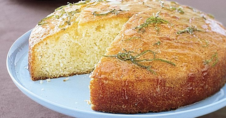 With a drizzle of sweet lime syrup, this coconut cake is easy to whip up for any family occasion.