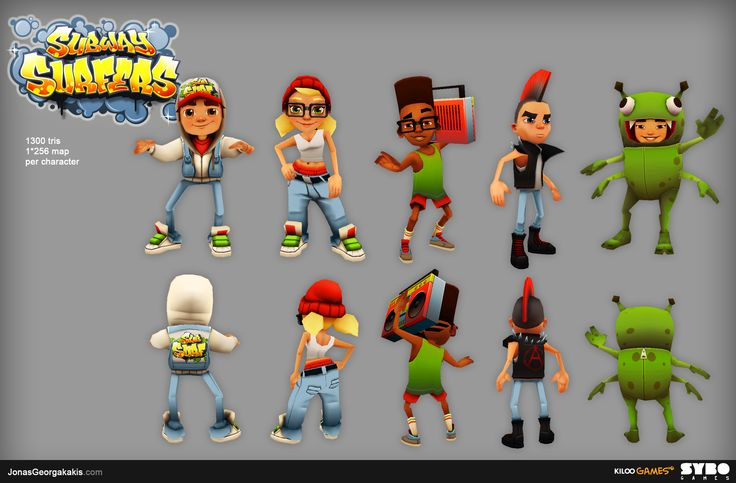 [GAME] Subway Surfers - Polycount Forum