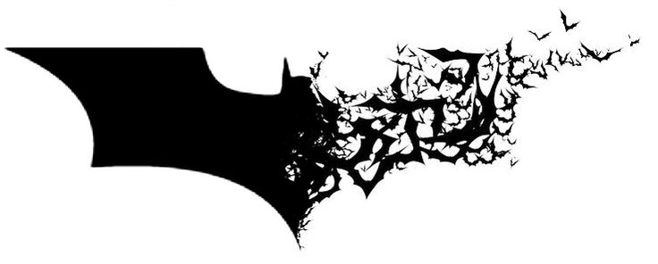 Dark Knight Logo with Bats by berabaskurt, tweaked by gn0xious