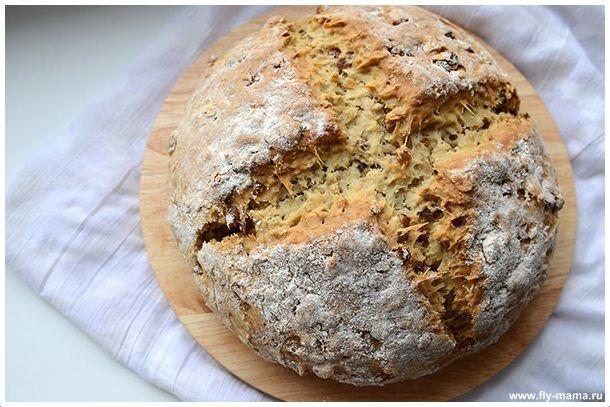 Домашний хлеб за пять минут  Время приготовления: 5 минут.Время ожидания готовности: 55 минут Нам понадобится:  - 2 стакана муки, - 1 стакан геркулеса, - 1/3 стакана сахара, - 1, 5 ч. ложки соды, - 1…