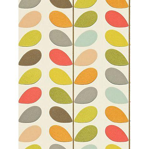 Buy Orla Kiely House for Harlequin Multi Stem Wallpaper Online at johnlewis.com