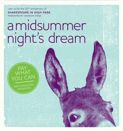 A Midsummer Night's Dream - Pay What You Can