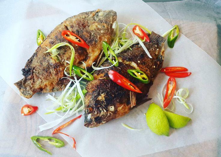 Whole Fried Tilapia