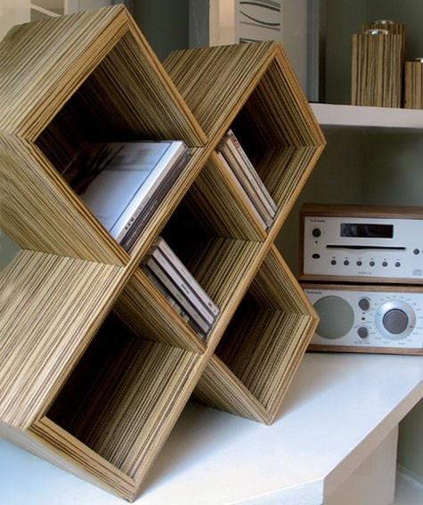 Cube CD Rack
