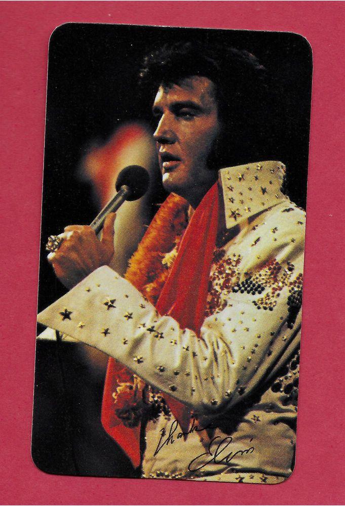 Details about Elvis Presley 1977 Pocket Wallet Calendar 2