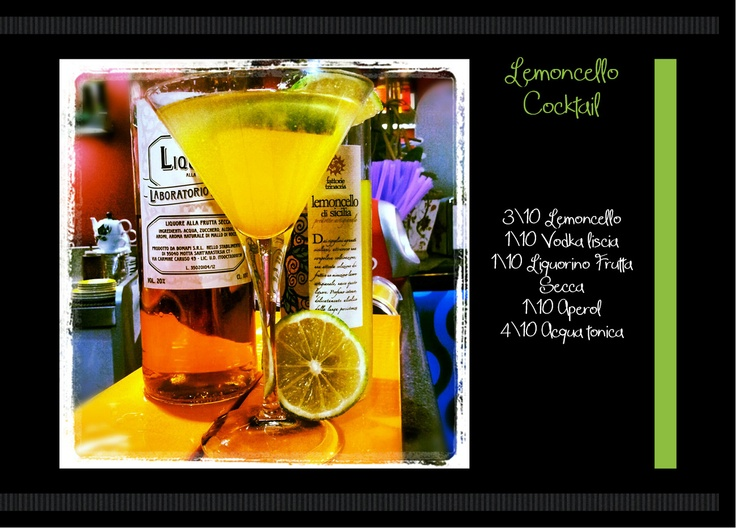 Lemoncello Cocktail ... Bomapi