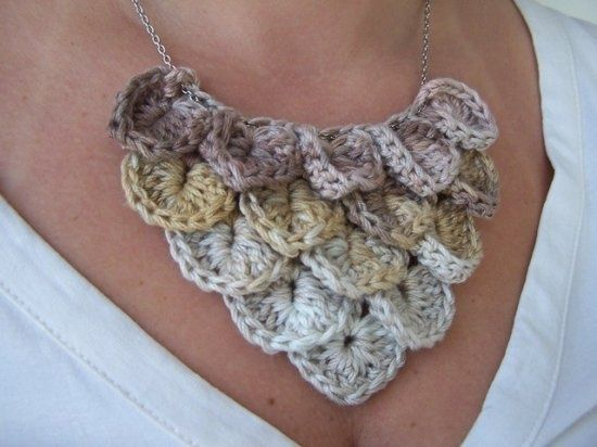 Crocodile-Crochet-Stitch. Crochet Pinterest