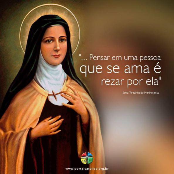 Santa Teresinha do Menino Jesus Frases, Santa Teresa de Lisieux Frases