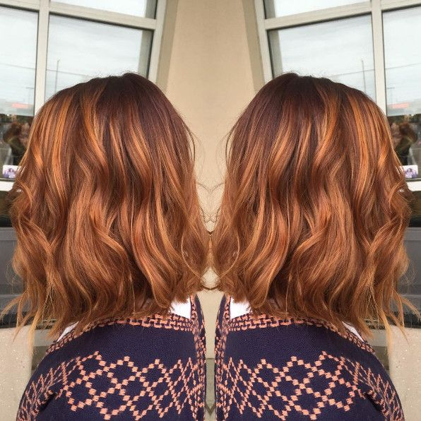 Pumpkin Spice Hair Is Trending for Fall—This Is What It Looks Like via @ByrdieBeauty