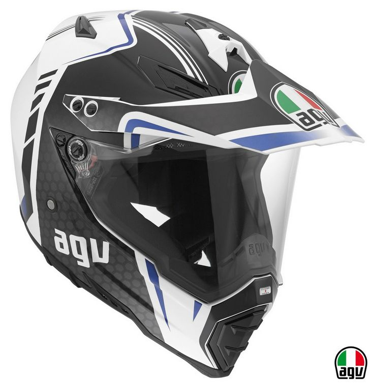 The AGV Dual Evo has the best of both worlds being able to use the helmet  as both an on and off road purpose. The has a removable Peak and visor, ...