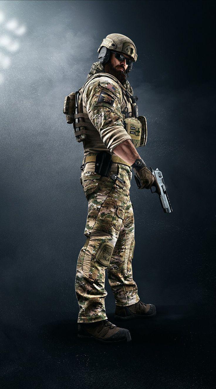 Tom Clancy's Rainbow Six Siege New Dust Line Operation Navy Seal Blackbeard