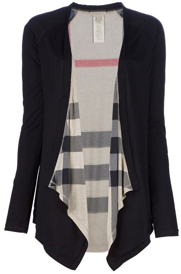 Burberry Brit drape cardigan - yes please!