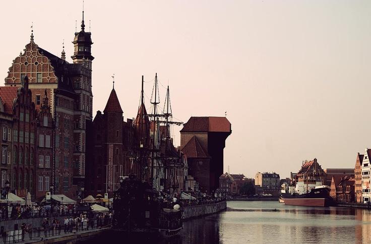 #gdansk My favorite view at the end of the day; (c) Małgorzata Rybakowska