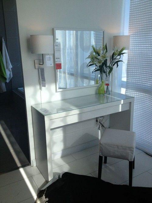 Malm Vanity table Ikea