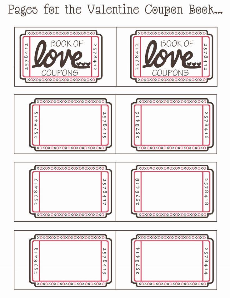 The Marvellous Blank Valentine Coupon Book Pdf Google Drive