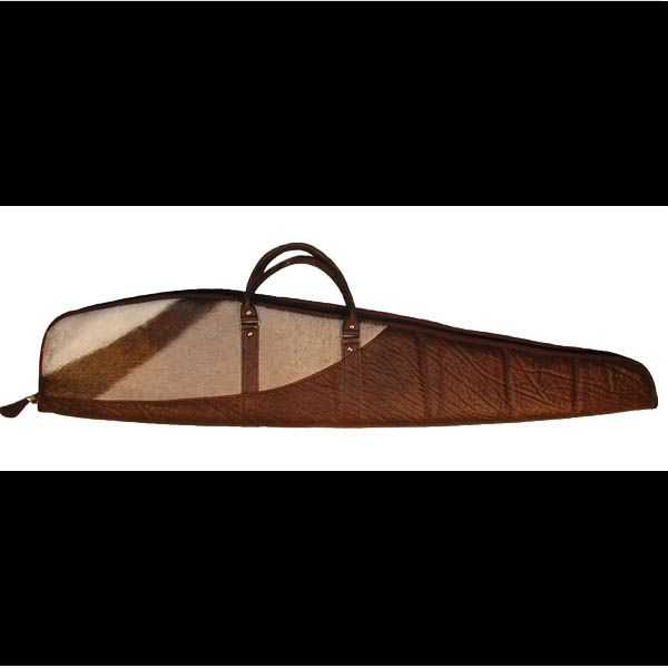 Cape Buffalo & Gemsbok Skin Rifle Bag  #capebuffaloandgemsbokskinriflebag